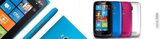 Nokia Lumia 900 y Lumia 610