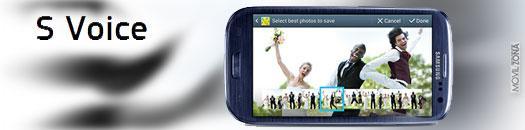 Samsung Galaxy S3 con sistema S Voice