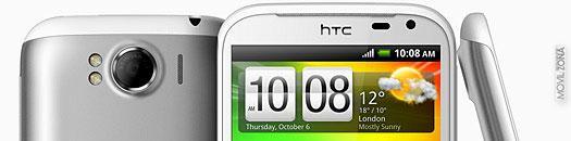 HTC sensation XL pantalla