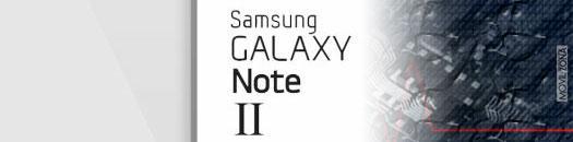 Características del SAmsung Galaxy Note II