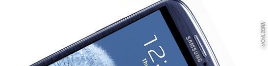 Samsung Galaxy S3 Azul lateral