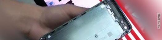 Carcasa metálica del iPhone 5