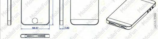 Planos de diseño del iPhone 5