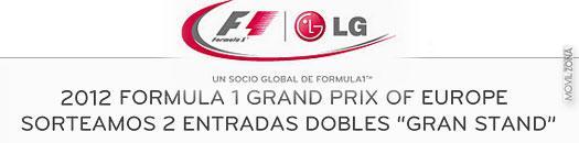 LG te lleva a la Fórmula 1