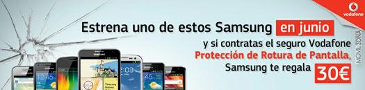 Vodafone seguro Samsung
