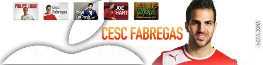 Cesc Fábregas en iTunes