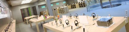 Interior de la Apple Store de Nueva York