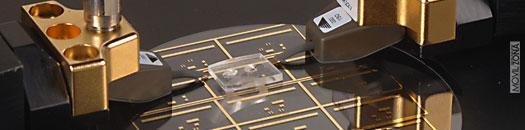 Chip en proceso de fabiración