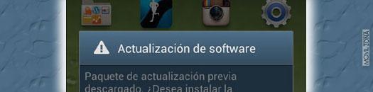 Captura de pantalla de Samsung Galaxy S3