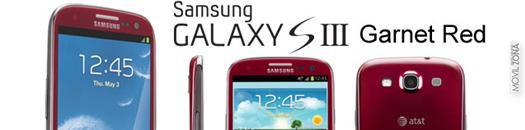 Samsung Galaxy S3 grant red