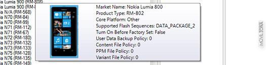 Nokia Windows Phone versión 8779