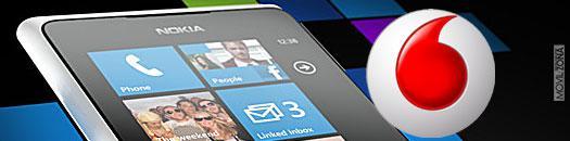 Nokia Lumia 900 con Vodafone