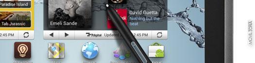 Samsung Galaxy Note 10.1 apertura
