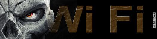 Calavera con el logo de WiFI