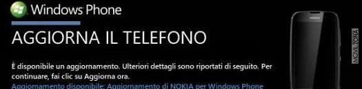 Actualización Windows Phone para la gama Nokia Lumia