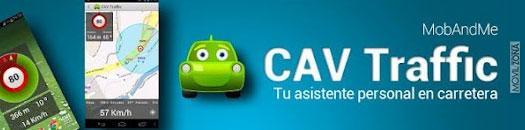 cav traffic con logotipo de coche verde