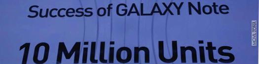 Ventas del Samsung Galaxy Note