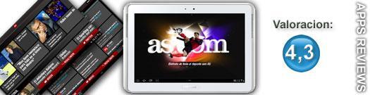 Aplicación diario AS para Samsung Apps