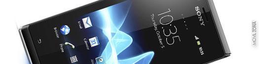 Sony Xperia J apertura