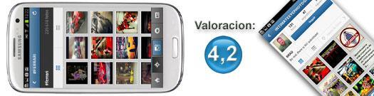 Instagram en Samsung Galaxy S3