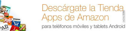 Tienda de aplicaciones de Amazon para móviles Android