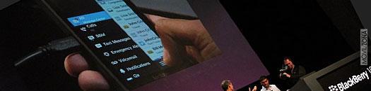 BlackBerry 10 en funcionamiento