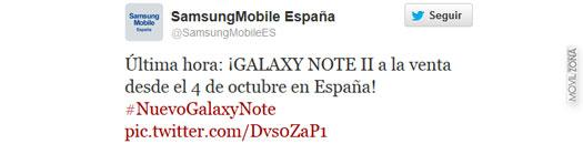 Galaxy Note 2 a la venta en España