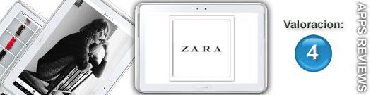 Aplicación de Zara para Samsung Apps