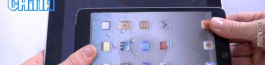 Maqueta del iPad Mini en vídeo