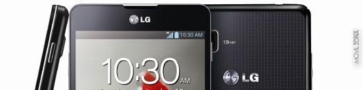 LG Optimus G con activación de cámara por voz