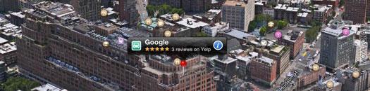 Google y Apple, pelea por los mapas