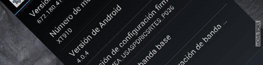 Actualización para el Motorola RAZR MAXX