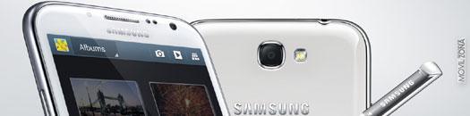 cámara del galaxy note 2