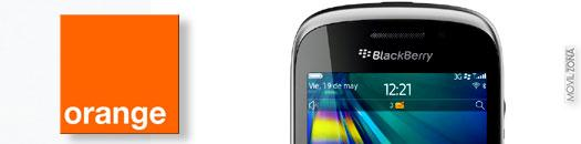 BlackBerry Curve 9320 en Orange