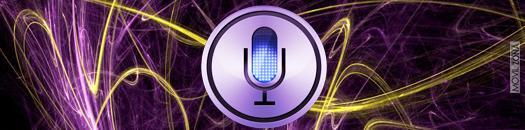 Logotipo de Siri, aplicación de voz de Apple