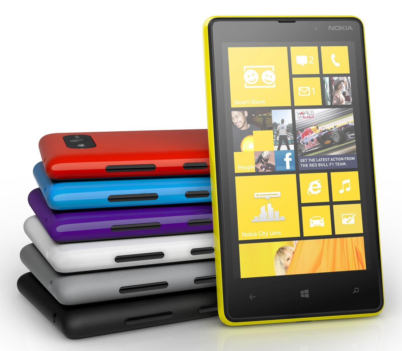 Nokia Lumia 820 amarillo
