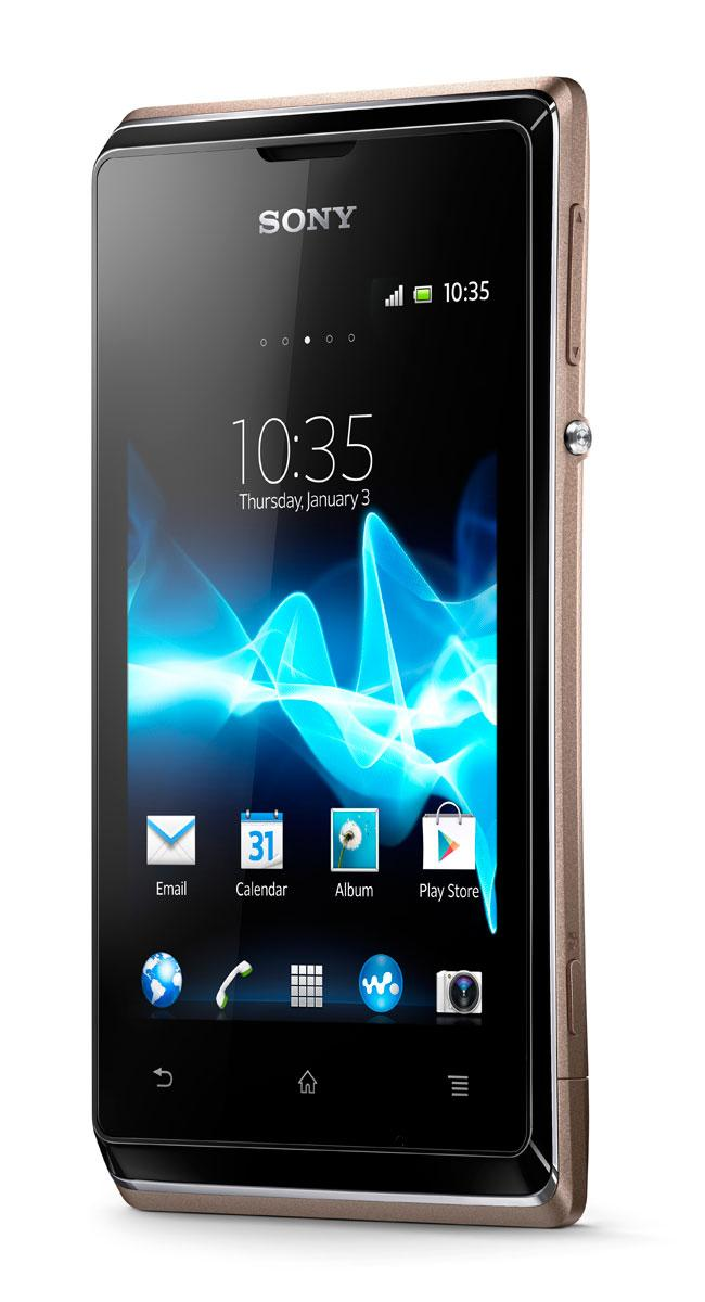 Sony Xperia E vista frontal