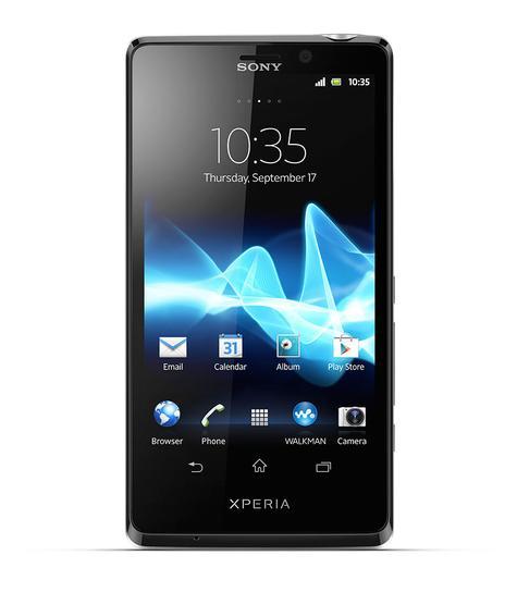 Sony Xperia TX vista frontal