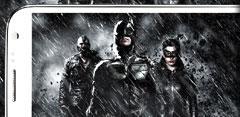 Samung Galaxy Note 2 con Batman