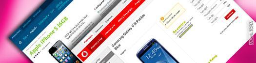Galaxy S3 contra iPhone 5 en precios