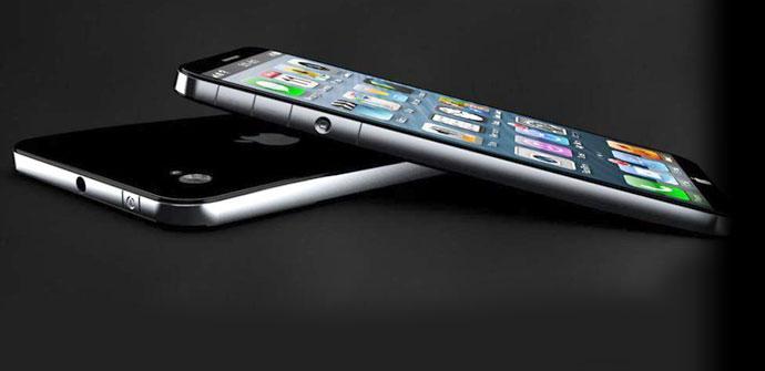 iPhone 5S de color negro