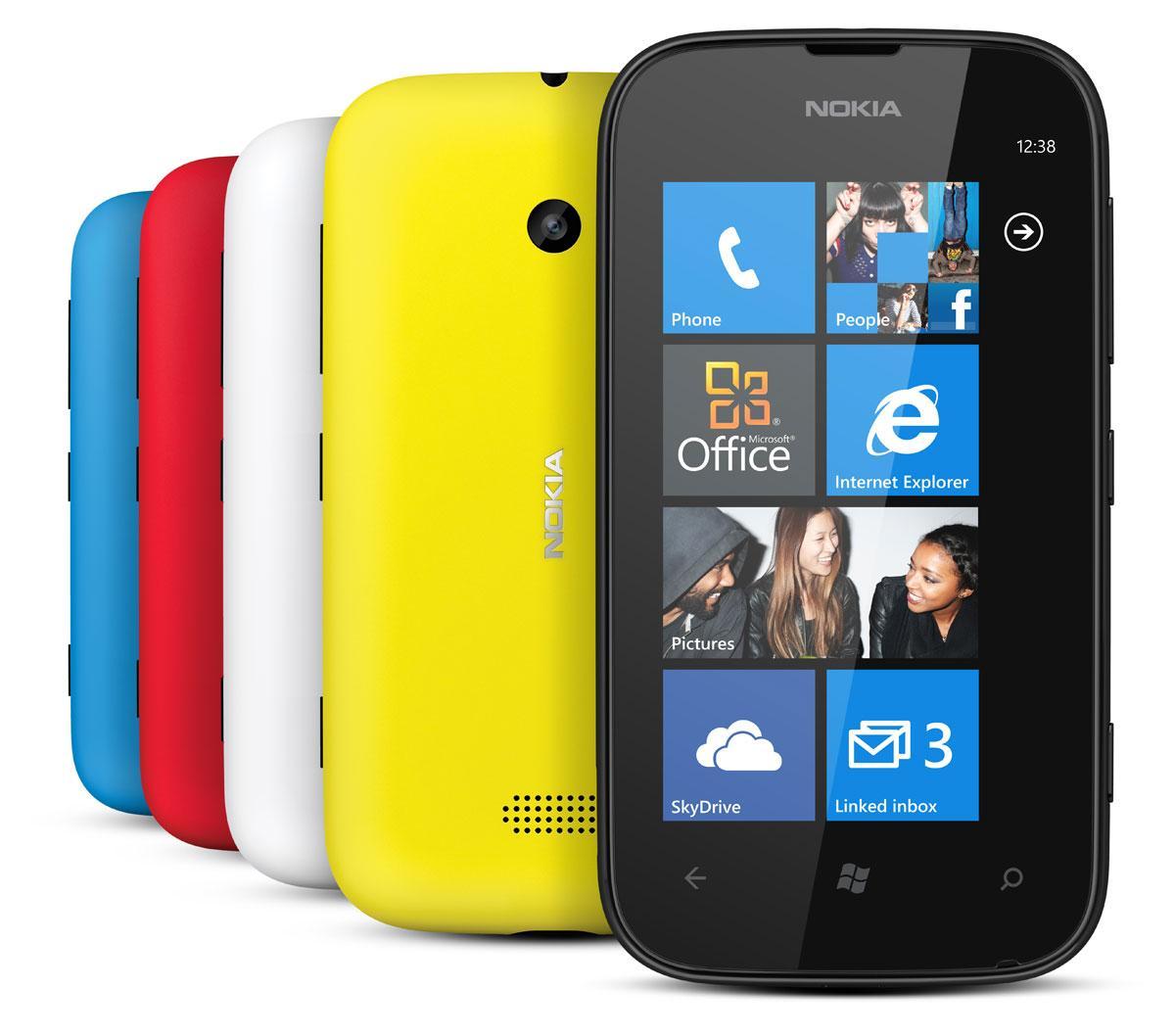 Nokia Lumia 510 en varios colores