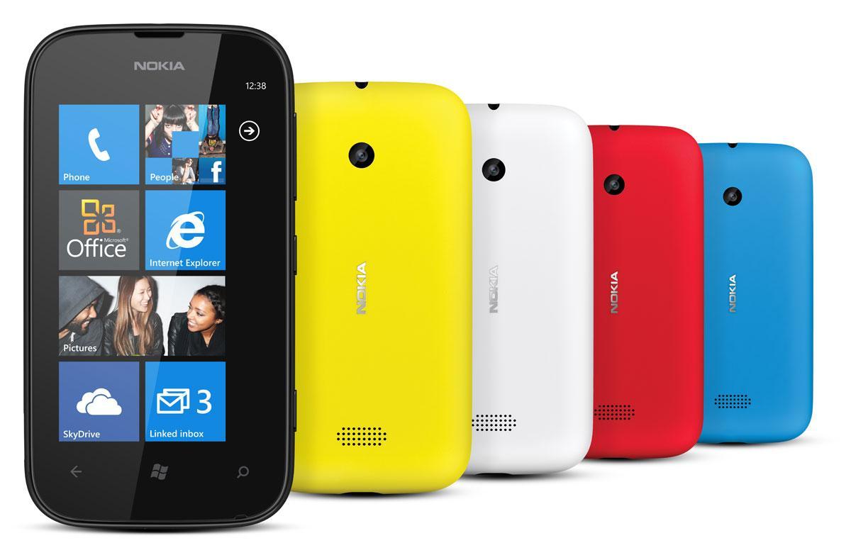 Nokia Lumia 510 en colores