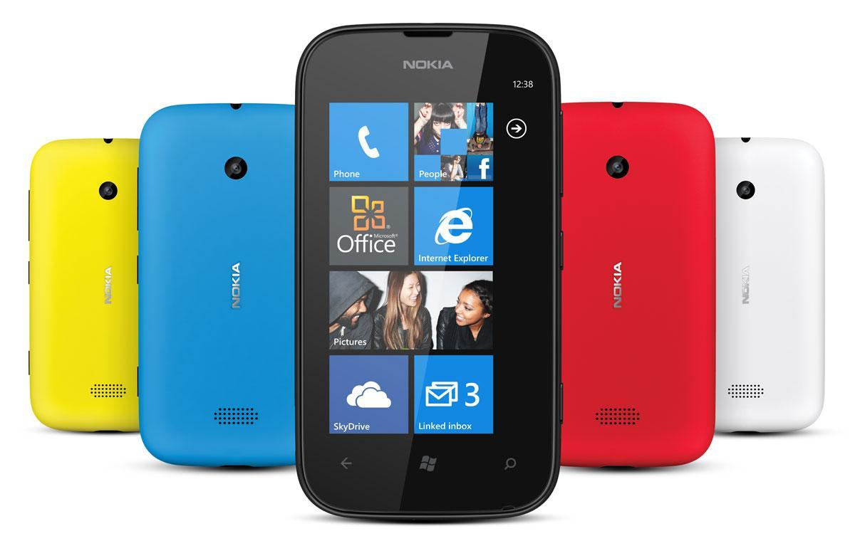 Nokia Lumia 510 frontal