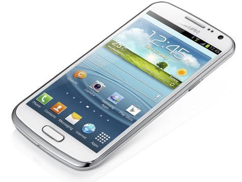 Samsung Galaxy Premier en color blanco