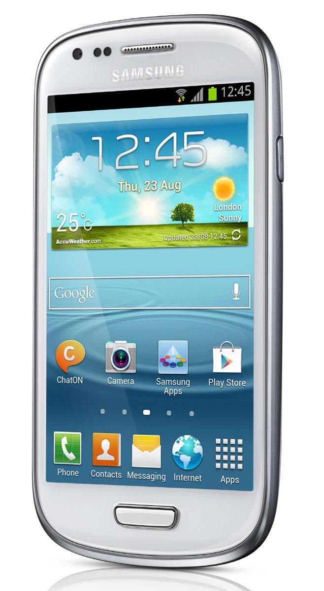 Samsung Galaxy S3 toma frontal