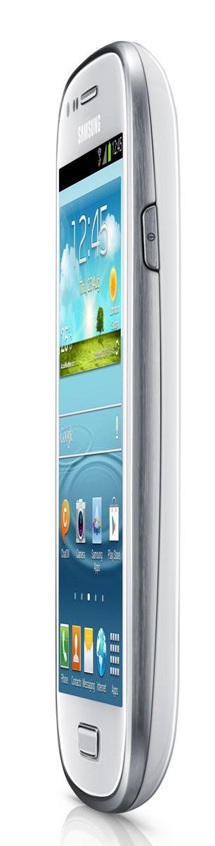 Samsung Galaxy S3 vista de perfil