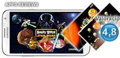 Captura de juego Angry Birds Star Wars