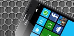 Teléfono Samsung con Windows Phone 8