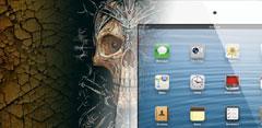 Calavera con iPad Mini